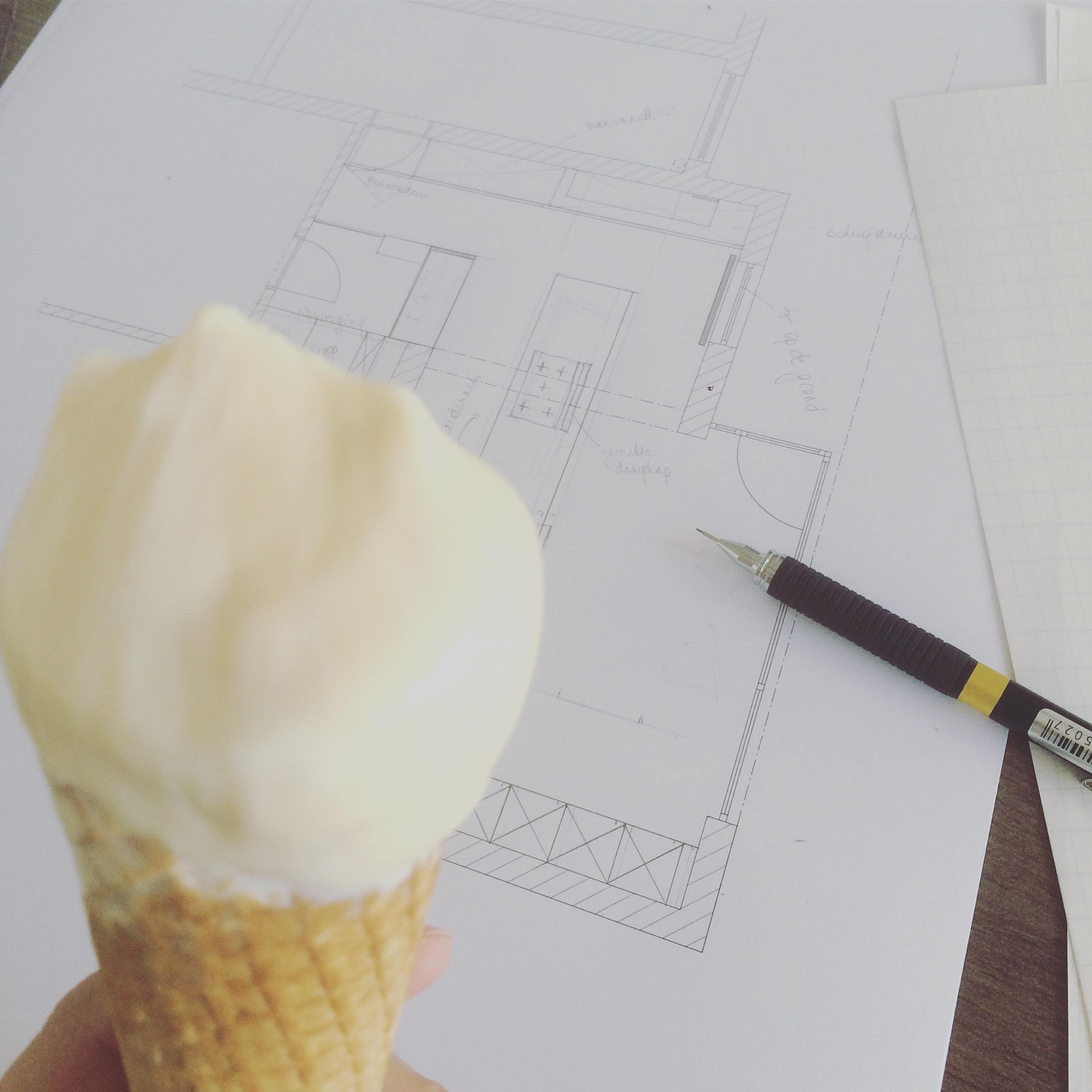 Wij werken door tijdens het bouwverlof